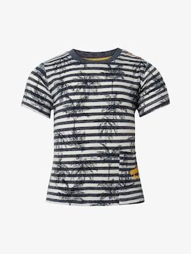 T-shirt met patroon - 7 - TOM TAILOR