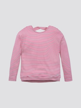 Striped sweatshirt - 7 - TOM TAILOR