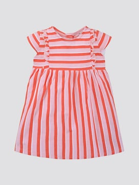 Striped dress with frills - 7 - TOM TAILOR