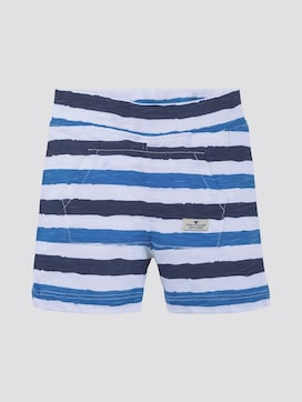 Gestreepte shorts - 7 - TOM TAILOR