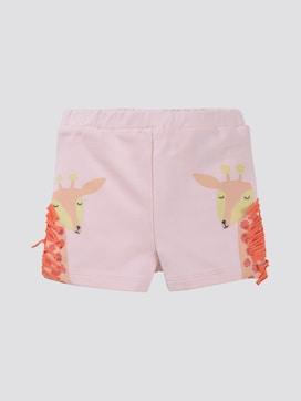 Shorts mit Print und Fransen - 7 - TOM TAILOR