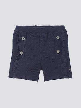 Shorts met textuur - 7 - TOM TAILOR