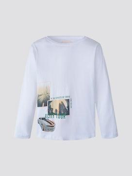 Langarmshirt mit Print - 7 - TOM TAILOR