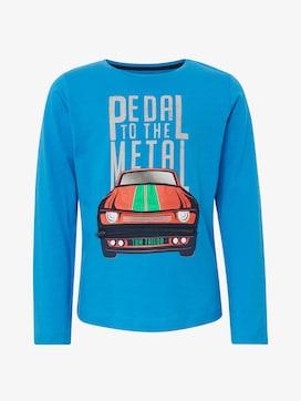 T-shirt met een ongewoon detail - 7 - TOM TAILOR