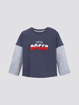 Lange mouwen shirt met borduurwerk - 7 - TOM TAILOR