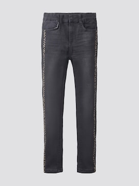 jeans with a polka-dot print - 7 - TOM TAILOR