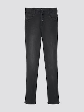 Linly Straight Jeans mit Knopfverschluss - 7 - TOM TAILOR
