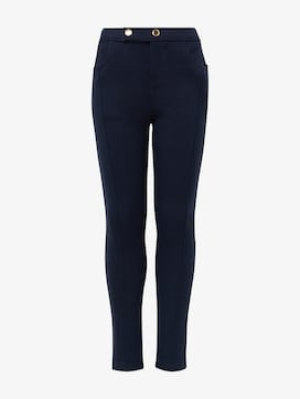 Leggings with button fastening - 7 - TOM TAILOR