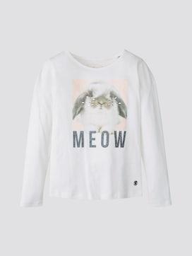 Lange mouwen shirt met fotoprint - 7 - TOM TAILOR