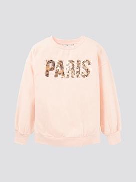 Sweatshirt mit Print - 7 - TOM TAILOR