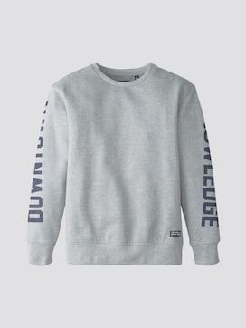 Sweatshirt mit Schrift-Print - 7 - TOM TAILOR