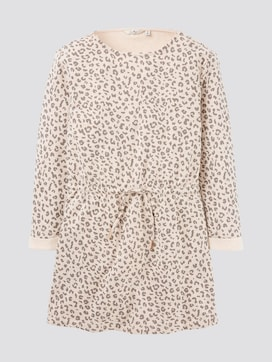 Dress with Leo print - 7 - TOM TAILOR