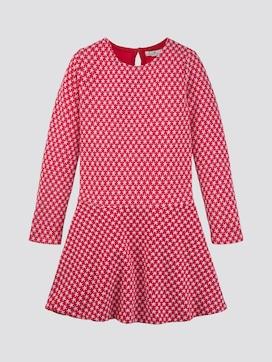 Kleid mit Stern-Motiv - 7 - TOM TAILOR