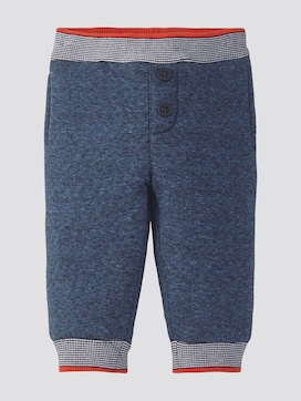 Patterned jogging bottoms with buttons - 7 - TOM TAILOR