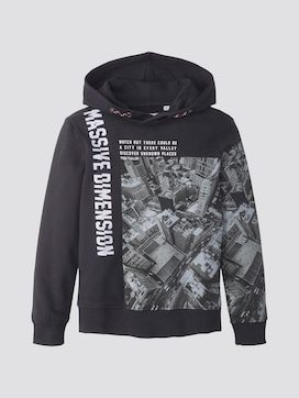 Hoody with photo print - 7 - TOM TAILOR