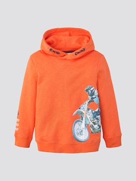 Hoody with print - 7 - TOM TAILOR