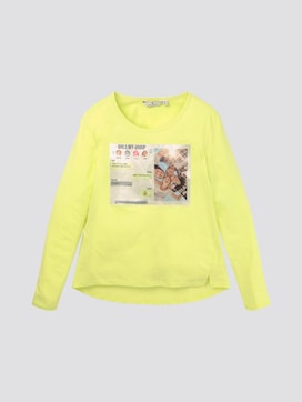 Girly Langarmshirt mit Foto-Print - 7 - TOM TAILOR