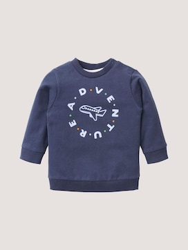 Sweatshirt mit Piloten-Artwork - 7 - TOM TAILOR