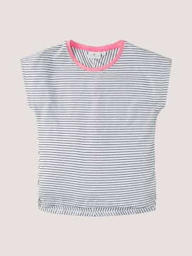 Loose fitting striped T-shirt - 7 - TOM TAILOR