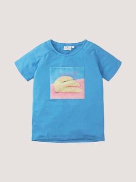T-shirt met fotoprint - 7 - TOM TAILOR