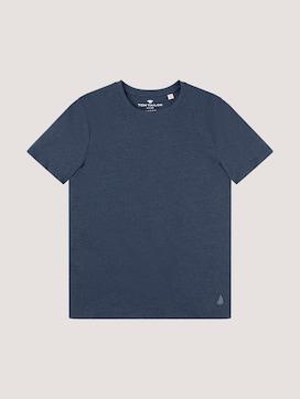 T-Shirt mit Underlayer - 7 - TOM TAILOR