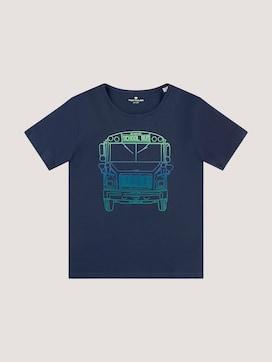T-shirt met kleurrijke print - 7 - TOM TAILOR
