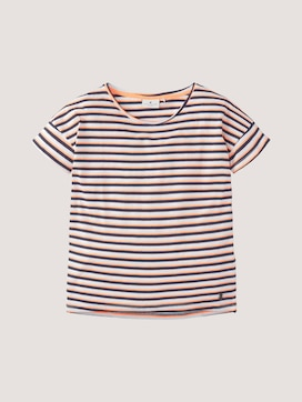 Loose-fit striped T-Shirt - 7 - TOM TAILOR