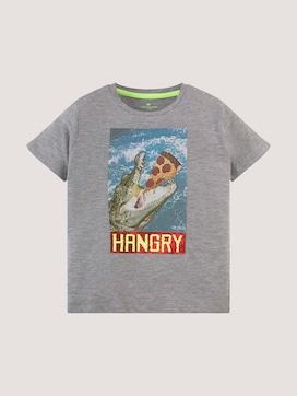 T-Shirt mit großflächigem Print - 7 - TOM TAILOR