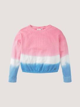 Sweatshirt met kleurverloop - 7 - TOM TAILOR