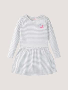 Gemustertes Kleid mit Applikationen - 7 - TOM TAILOR