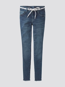 Lace-Up Jeans - 7 - TOM TAILOR