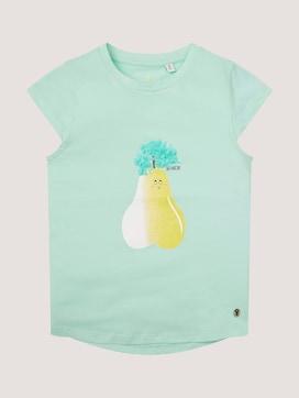 T-Shirt mit Früchte-Logo - 7 - TOM TAILOR