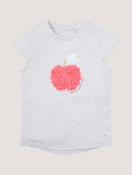 T-shirt met fruitlogo - 7 - TOM TAILOR