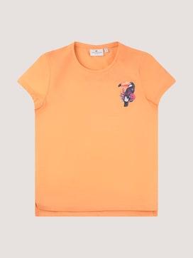 T-shirt met een subtiele print - 7 - TOM TAILOR