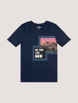 T-shirt with a print - 7 - TOM TAILOR