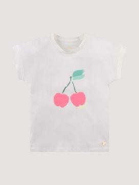 Pailletten T-shirt - 7 - TOM TAILOR