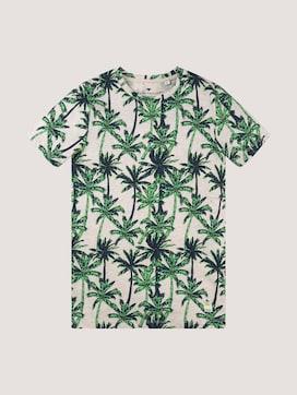 T-Shirt mit Alloverprint - 7 - TOM TAILOR
