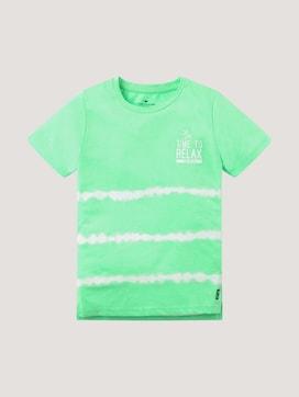 Batik T-shirt met print - 7 - TOM TAILOR