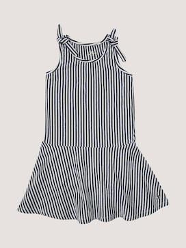 Gestreiftes Kleid mit Knoten-Detail - 7 - TOM TAILOR