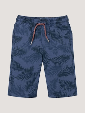 Katoenen Shorts met trekkoord - 7 - TOM TAILOR