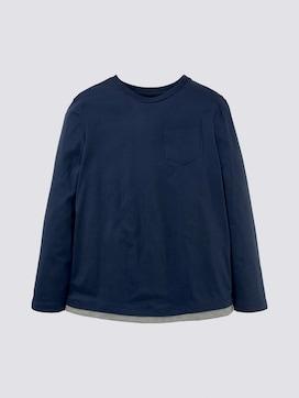 Langarmshirt mit Brusttasche - 7 - TOM TAILOR