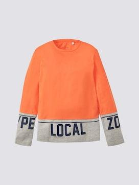 Colorblocking Shirt met lange mouwen - 7 - TOM TAILOR