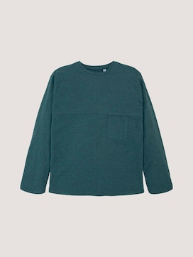casual long-sleeved shirt with a chest pocket - 7 - TOM TAILOR