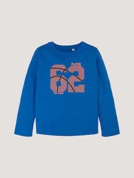 Langarmshirt mit sportlichem Print - 7 - TOM TAILOR