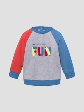 Colourful sweatshirt with artwork - 7 - TOM TAILOR