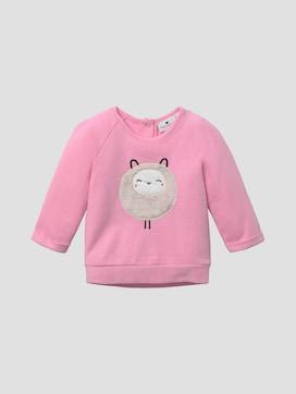 Sweatshirt with artwork - 7 - TOM TAILOR