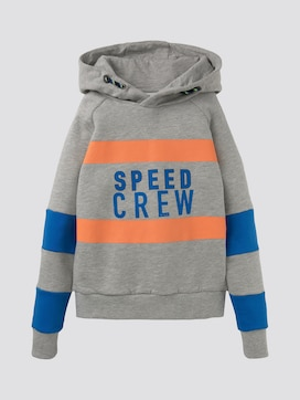 Colorblocking Hoodie mit Print - 7 - TOM TAILOR