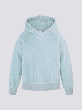 Nicki Hoodie mit Glitzerstreifen - 7 - TOM TAILOR