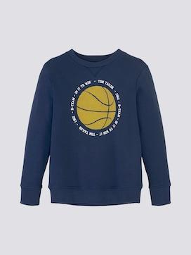 Sweatshirt mit Basketballmotiv - 7 - TOM TAILOR