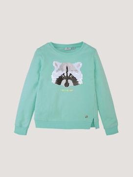 Sweater met pailletten - 7 - TOM TAILOR